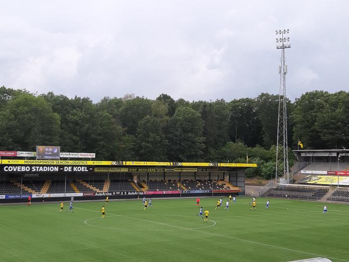Wedstrijdbeeld VVV-Venlo - FC Eindhoven.