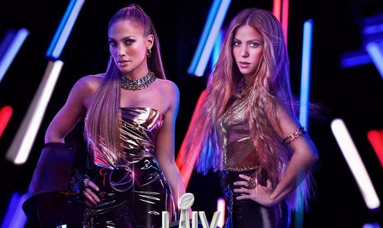 Jennifer Lopez en Shakira
