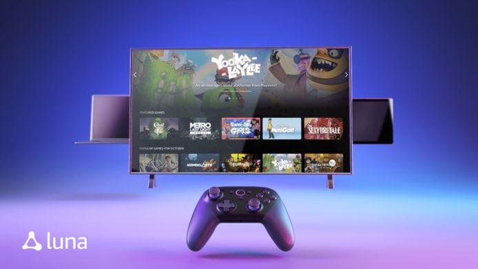 Deux abonnements ont été annoncés: un forfait Luna+, avec un prix de départ de 5,99 dollars par mois, donnant notamment accès à un nombre illimité d'heures de jeu et un vaste catalogue de titres ainsi qu'une chaîne Ubisoft, en partenariat avec l'éditeur français de jeux vidéos, dont le prix n'a pas encore été dévoilé.