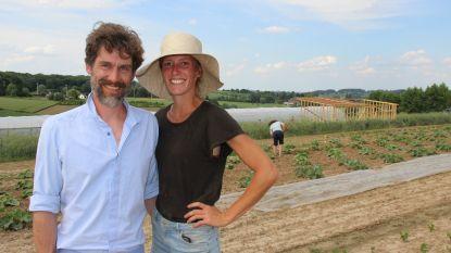 """Katrien en Nelis jagen droom na met bioboerderij De Zaailing: """"Het hele jaar door groenten kweken, dit verhaal klopt helemaal"""""""