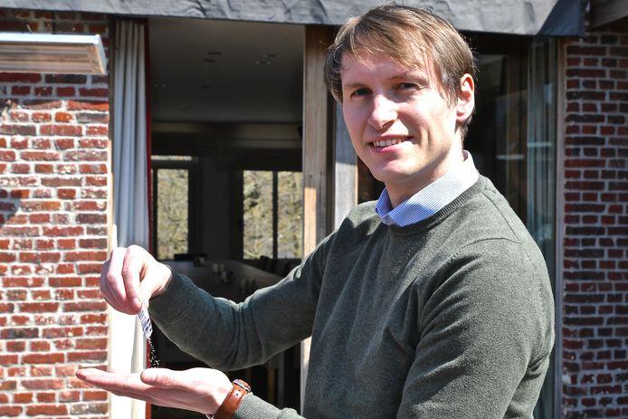 Dieter Verfaillie van Zoutman wil de Roeselaarse horeca een duwtje in de rug geven.