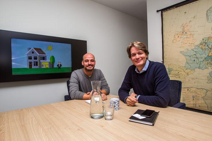 Rik van Bavel (links) en Freek Raijmakers: ,,We vormen een mooie combinatie van hard- en software.''