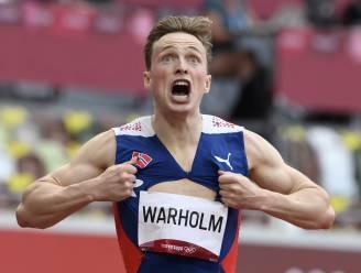 """Onze atletiekspecialist Van Branteghem over het """"súperhistorische"""" wereldrecord van Warholm: """"Boltiaans? Misschien van tijd nog straffer"""""""