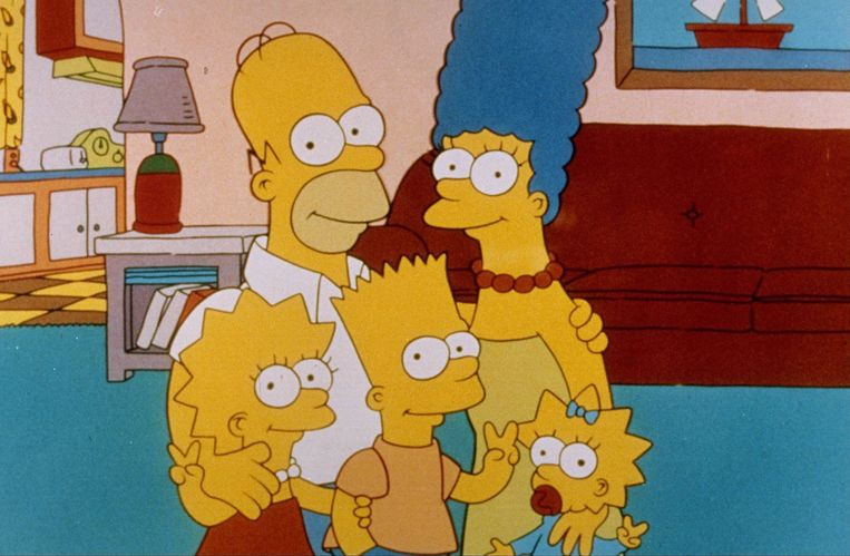 The Simpsons Beeld ANP Kippa