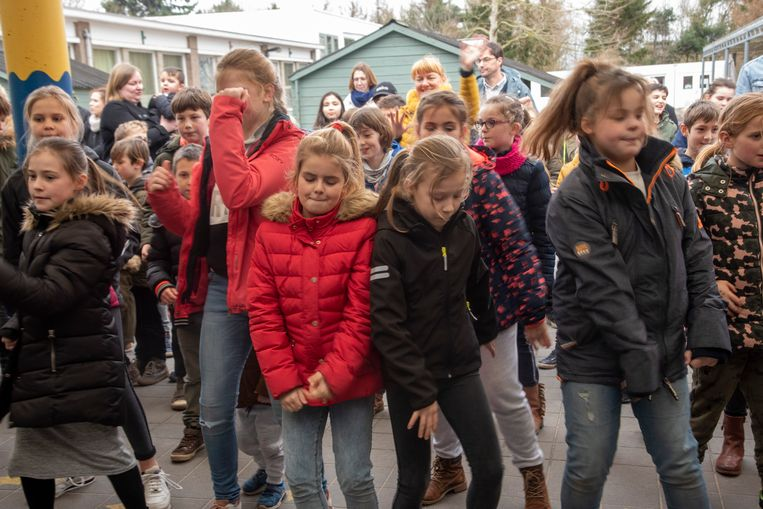 Move tegen pesten in basisschool Laarne.
