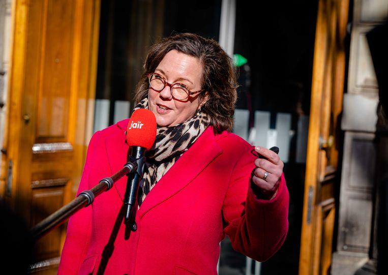 Demissionair minister Tamara van Ark voor Medische Zorg (VVD).  Beeld ANP - Bart Maat