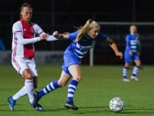 Celien Tiemens wil het trainer Joran Pot van PEC Zwolle Vrouwen constant moeilijk maken