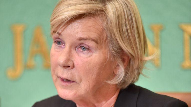 VN-rapporteur voor kinderprostitutie Maud de Boer-Buquicchio. Beeld AFP