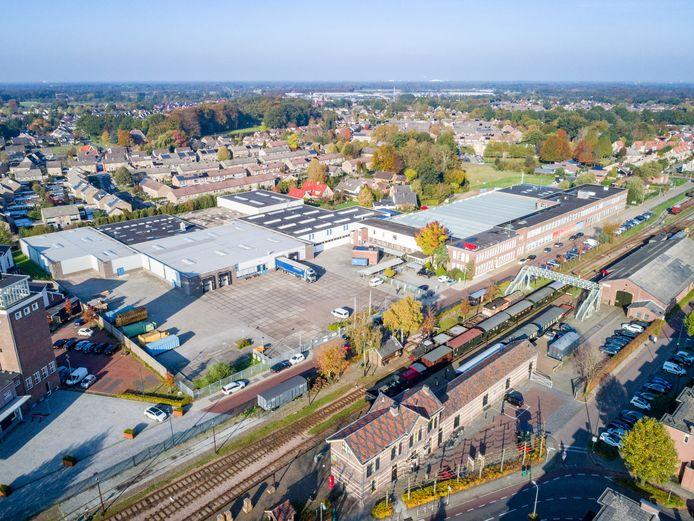 Het terrein van Odink & Koenderink naast het Museum BuurtSpoorweg waar Ter Steege Gebiedsontwikkeling 75 tot 100 woningen wil bouwen.