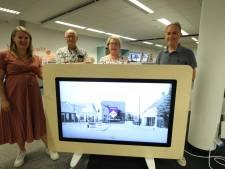 Museumtafel in Bibliotheek Veldhoven