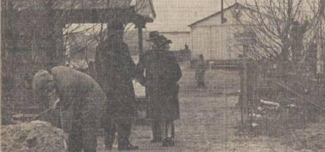 Joodse illegale vluchtelingen werden in slachthuis weggestopt