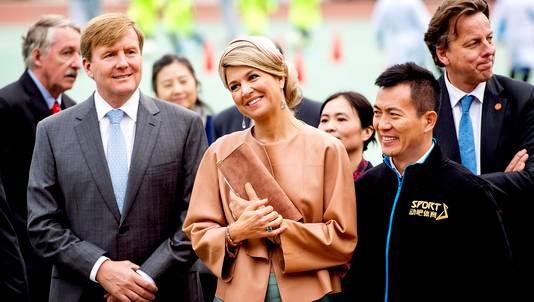 Koning Willem-Alexander en koningin Maxima zijn voor een vijfdaags staatsbezoek in China.