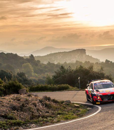Rallye d'Espagne: Thierry Neuville toujours bien installé en tête après la 2e journée