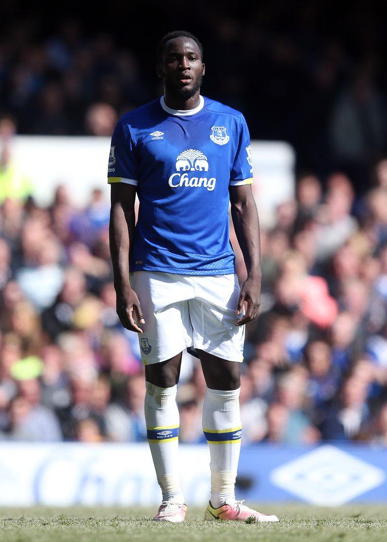 Romelu Lukaku zou graag terugkeren naar Londen. Beeld Getty Images