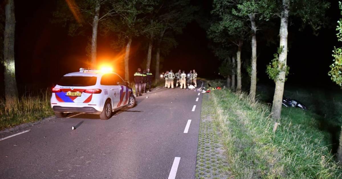 Dode en zwaargewonde bij eenzijdig ongeval in Ossenisse.