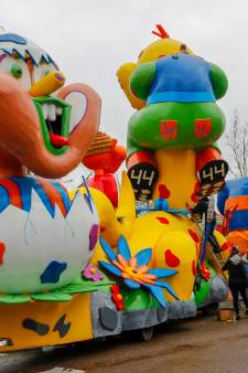 Carnavalsoptochten afgelast: geld tekort voor wagenbouwers door harde wind