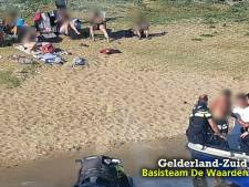 Zeventien boetes voor snelle watersporters op de Maas bij Ammerzoden