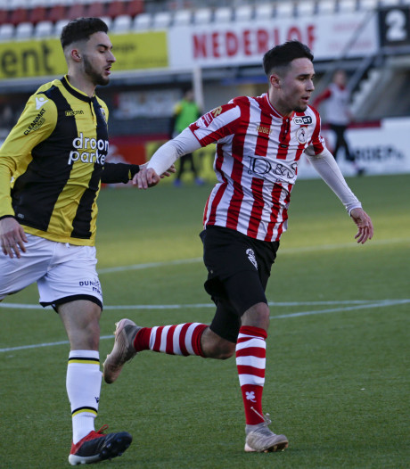Jong Vitesse baalt bij Sparta van weer een 'VAR-moment'