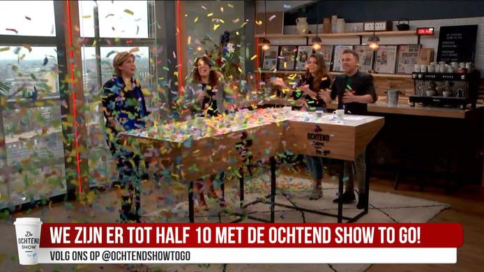 De Ochtend Show to go viert 100e aflevering