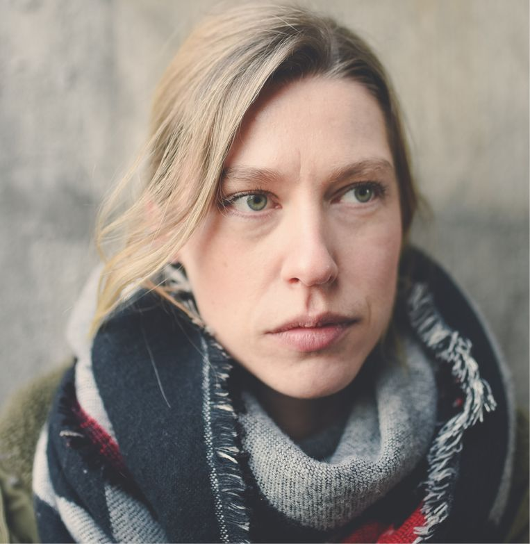 Heidi Driesen, begrafenisondernemer: 'Ik heb de indruk dat mensen persoonlijkere dingen zeggen tijdens uitvaartplechtigheden.' Beeld RV