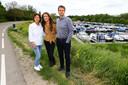 Anita, Anna en Geert Reynders.