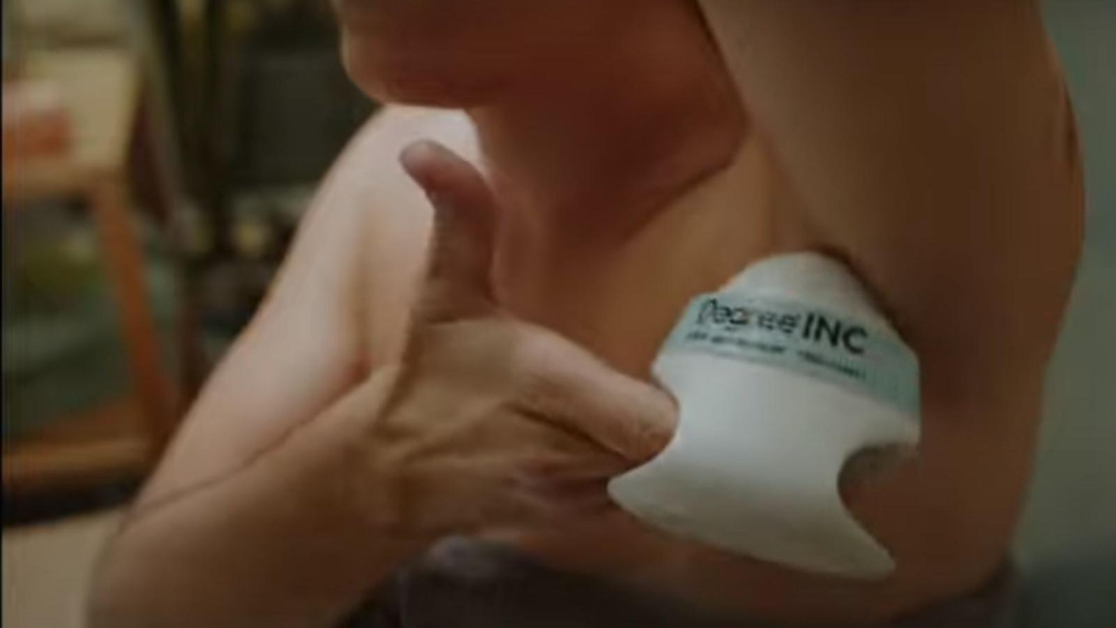Le déodorant a été notamment pensé pour les personnes malvoyantes.