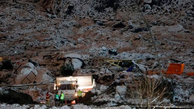 Al zeven slachtoffers gevonden onder puin, onder wie 2-jarige meisje, na aardverschuiving in Noorwegen
