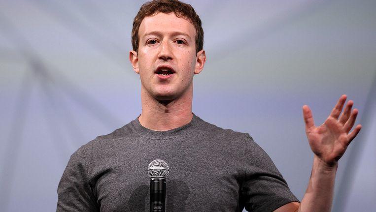 Facebook-CEO Mark Zuckerberg. Beeld GETTY