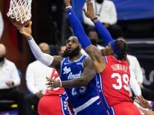 Philadelphia 76ers bezorgt Lakers in topper eerste uitnederlaag