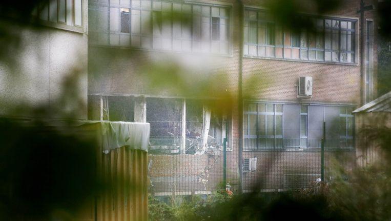 In het Nationaal Instituut voor Criminologie en Criminalistiek in Neder-Over-Heembeek is vannacht een