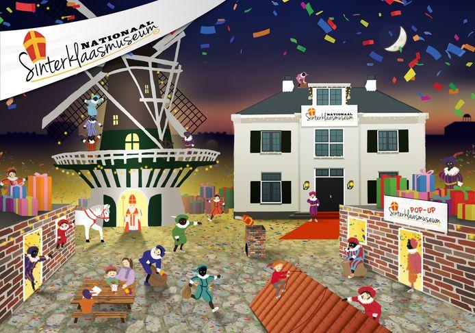 Om een beeld te krijgen van de plannen; het museum moet een plekje krijgen bij molen De Hoop, komend jaar als pop-upmuseum, later in een eigen pand. Voor de kinderen moeten er tal van activiteiten komen.