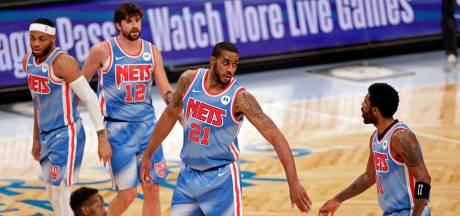 Brooklyn Nets blijven ook winnen zonder sterspelers Harden en Durant