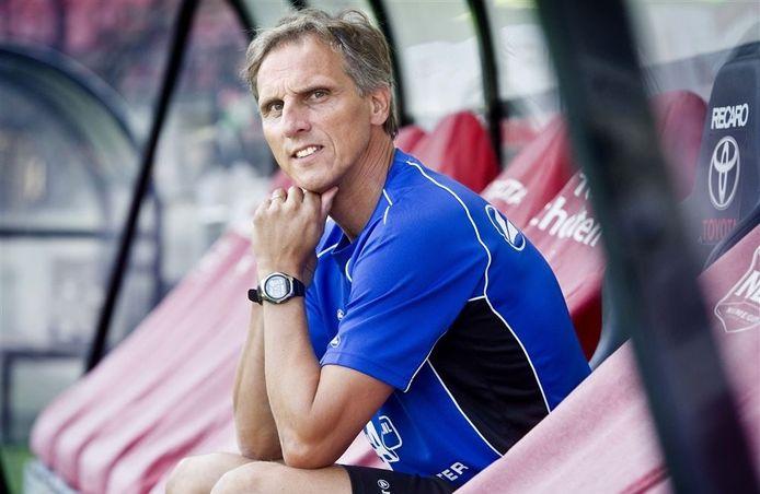 Trainer Anton Janssen.