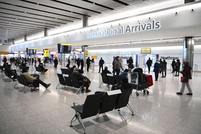 Een beeld vanop Heathrow.