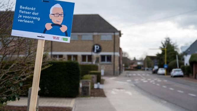 Gemeente plaatst 30 campagneborden voor fietsveiligheid in gemeente