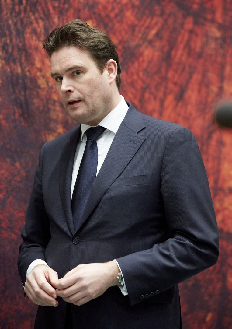 Na de ophef over de Bulgarenfraude had staatssecretaris Frans Weekers van Financiën nog nul politieke ruimte voor mildheid. Beeld ANP