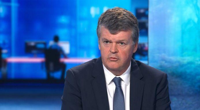 Vlaams minister van Binnenlands Bestuur Bart Somers (Open Vld), eveneens bevoegd voor Inburgering.