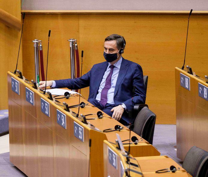 David McAllister, de Duitse voorzitter van de speciale brexitgroep in het Europees Parlement. (18/12/2020)