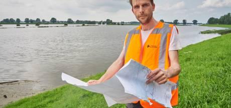 Hoogwater onderstreept belang van miljoenenproject Meanderende Maas, zo ziet en hoort deze dijkwachter
