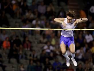 MEMORIAL. Duplantis zet net geen wereldrecord neer - Thiam zesde in hoogspringen - Laus wint op de 400 meter