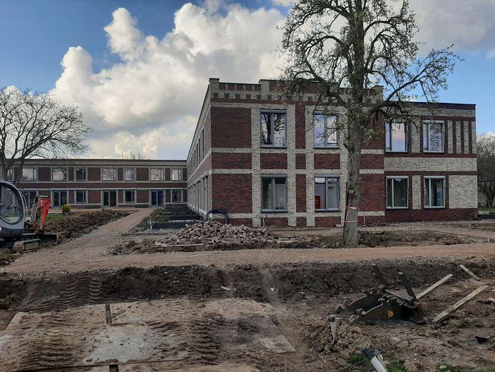 Het nieuwe verpleeghuis Andalhof, op de grens van Andelst en Herveld