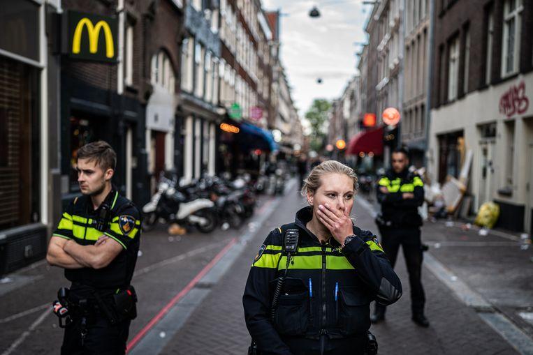 Misdaadverslaggever Peter R. de Vries raakte dinsdagavond zwaargewond bij een schietpartij in Amsterdam. Beeld Joris van Gennip