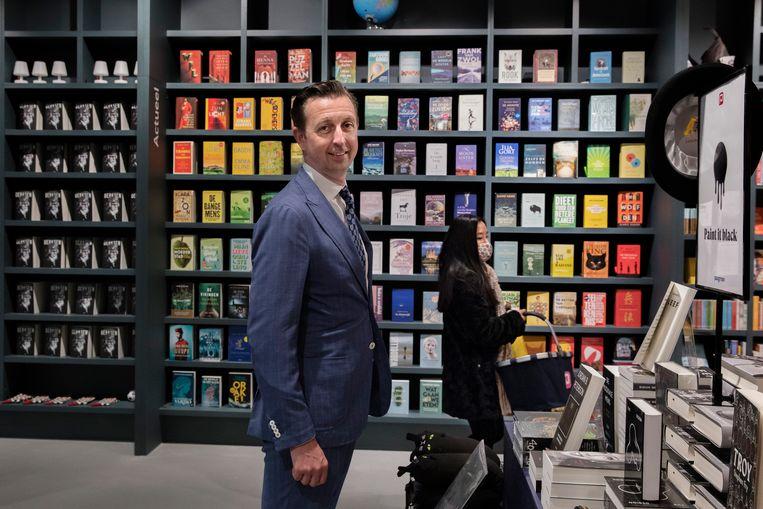 Fabian Paagman heeft grote namen gestrikt voor de Boekenweek. Beeld Inge van Mill
