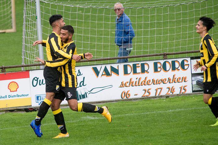 Theole viert de 1 - 0 in de competitiewedstrijd tegen SDO.
