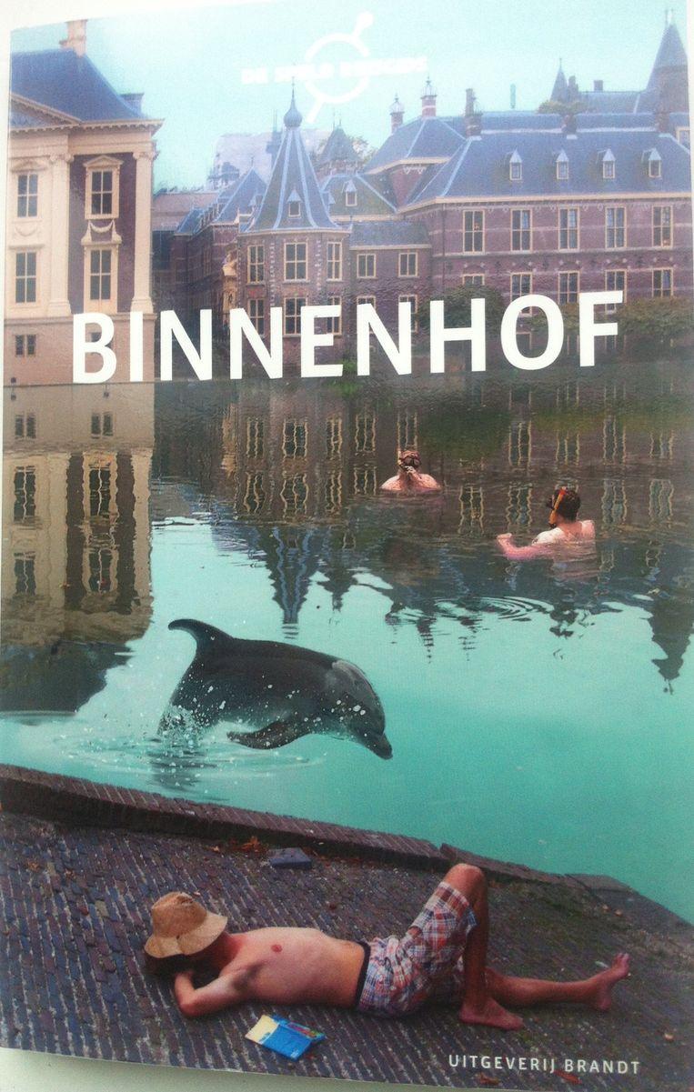 De Speld presenteert de reisgids voor het Binnenhof. Beeld De Speld