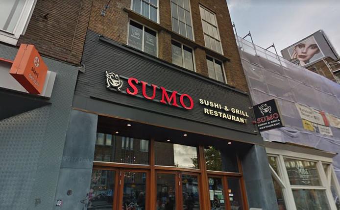 Restaurant Sumo aan de Utrechtse Potterstraat.