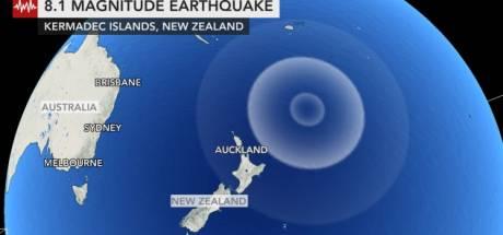 Nieuw-Zeeland getroffen door drie aardbevingen in zes uur tijd