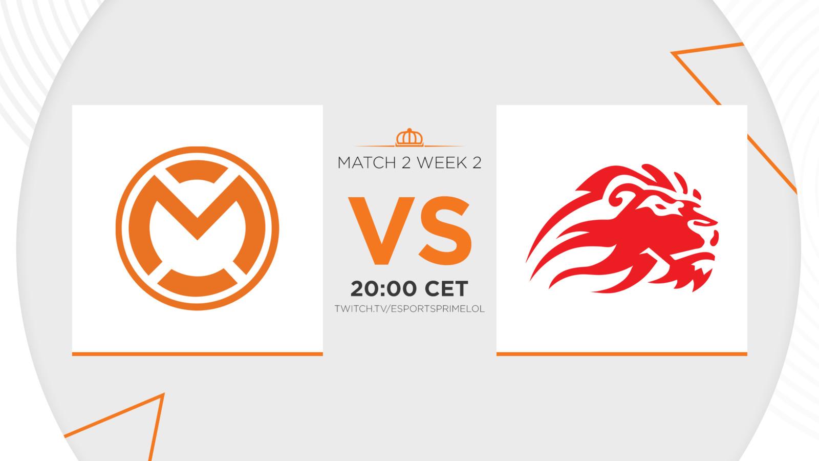 In de tweede speelronde van de Dutch League nemen mCon esports Rotterdam en LowLandLions het tegen elkaar op. Beide teams zijn nog puntloos.
