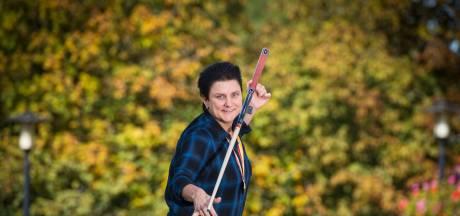 Therese Klompenhouwer wacht nog steeds tevergeefs op een grote rivaal in het driebanden