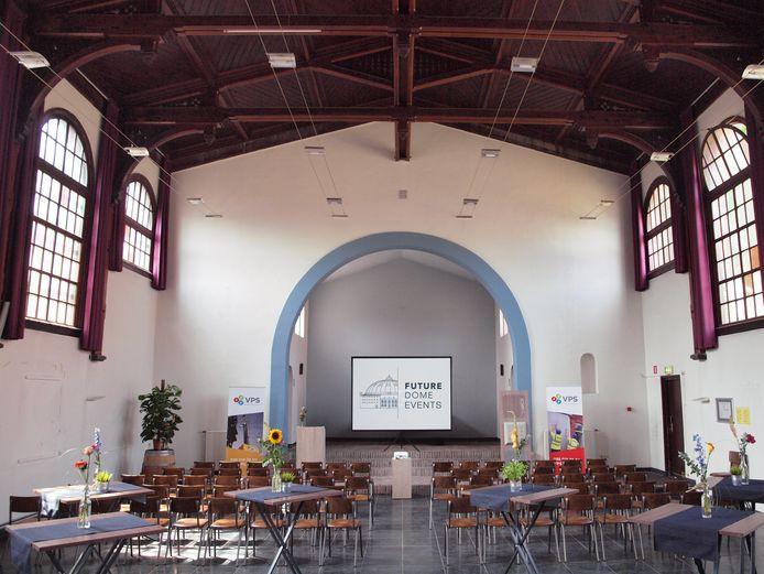 De Kapel kan gebruikt worden voor onder meer symposia en conferenties.